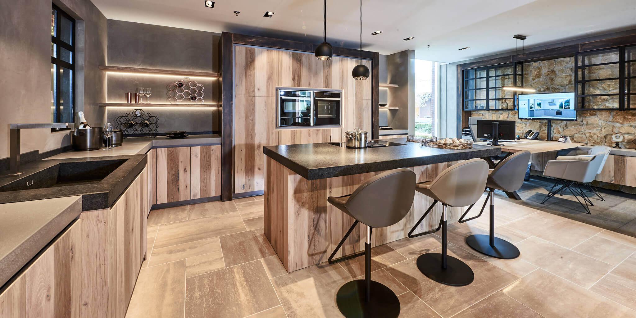Luxe Keuken Topapparatuur En Design Tieleman Keukens